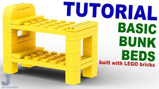 Tutorial - Lego Bunk Bed [cc]