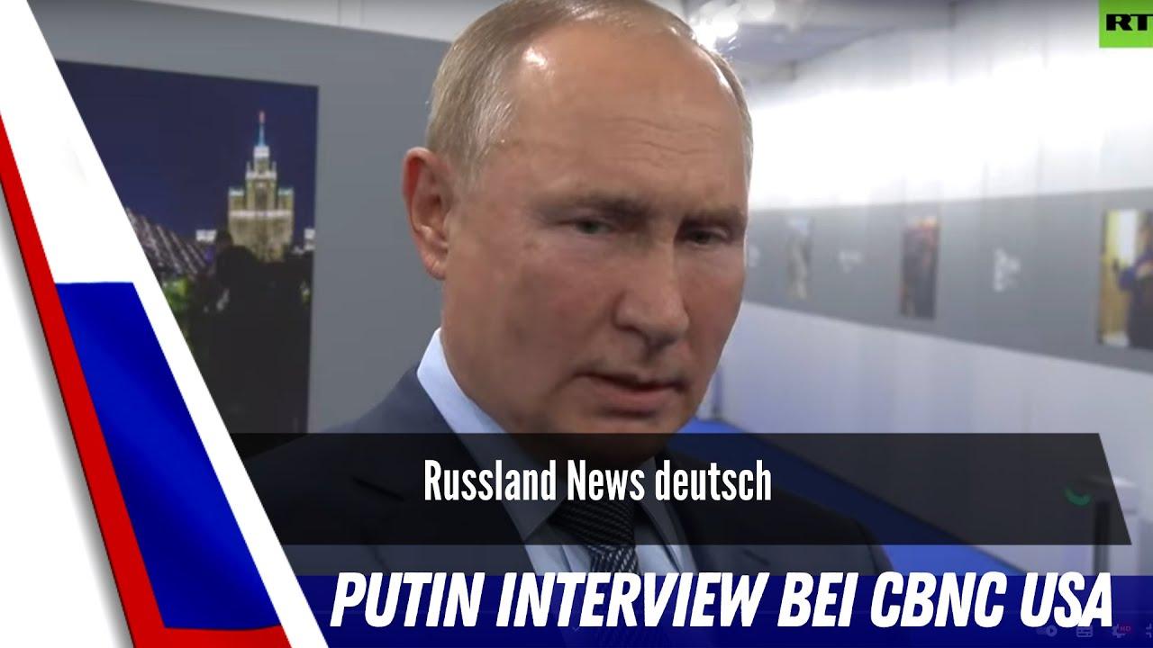 Putin bei CNBC USA.