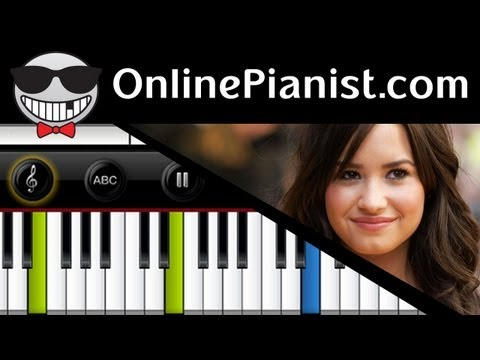 Demi Lovato - Angels Among Us [Sandy Hook, Newtown Tribute] - Piano Tutorial