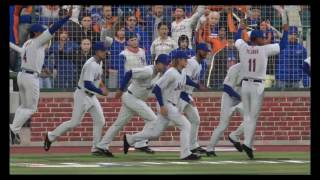 Walkoff to win the World Series! Mets vs Royals MLB 16 The Show