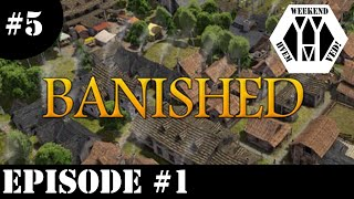 (Dansk/Danish) Hvem ved weekend (5): Banished ep 1 (en ny by)