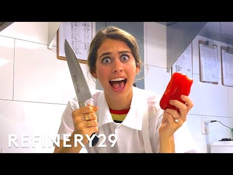 I Trained As A Professional Chef | Lucie For Hire | Refinery29