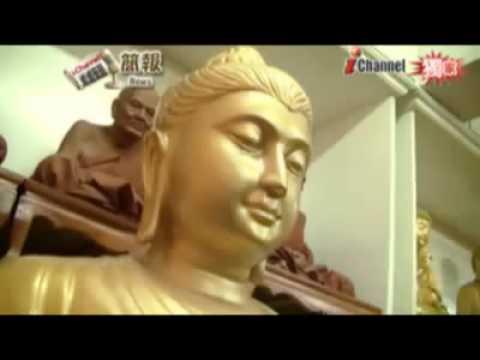 Tượng Đức Phật mở mắt   mỉm cười