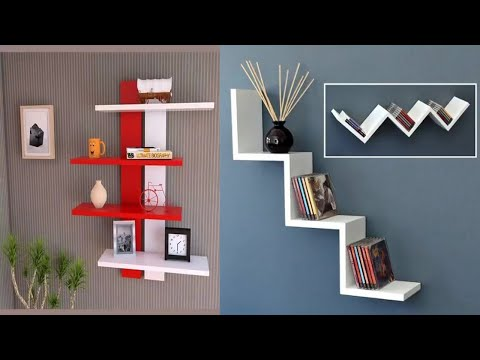 Best Modern Wall Shelf Design Ideas for 2019 | Creative DIY wall Shelf Designs