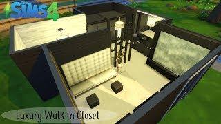 LUXE WALK IN CLOSET | DE SIMS 4 KAMER BOUWEN