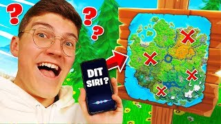 SIRI m'aide à faire un TOP 1 sur FORTNITE Battle Royale !
