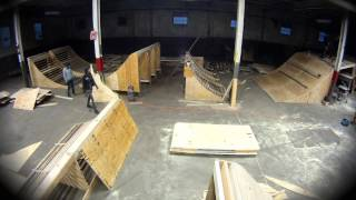 The Wheel Mill Ramp Building Time Lapse