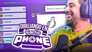 DIBUJANDO CON LOS PANAS EN GARTIC PHONE