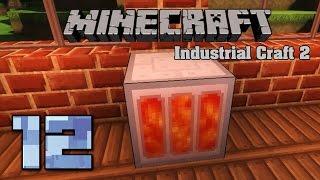 Minecraft Industrial Craft 2 12 Геотермальный генератор