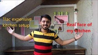 1 Lac Dure Keuken Setup &Echte Gezicht van Mijn Keuken|TOP|Ali Ahmad Raza