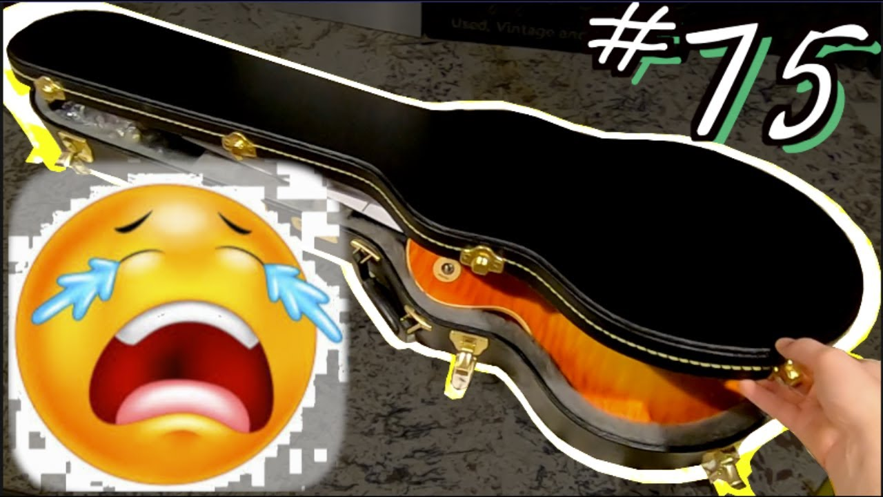 The Saddest Unboxing You'll Ever Watch...   Trogly's Unboxing Guitars Vlog #75