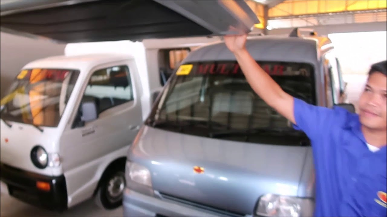 0a88b9ebdb Suzuki Multicabs For Sale in the Philippines - YouTube