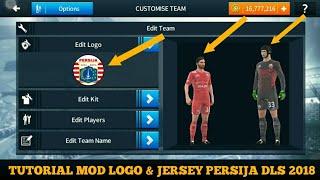 Cara Ganti Logo & Kit Persija Jakarta Dream League Soccer 2018 Liga1