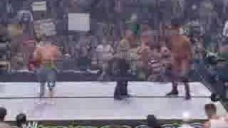Summerslam 2007 John Cena VS Randy Orton (part 1/3)
