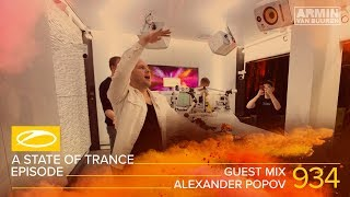 Alexander Popov A State Of Trance Episode 934 Guest Mix ASOT934