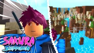 Unlocking my Sharingan + Stone Village Exploration in Sakura Shippuden 2! | Roblox