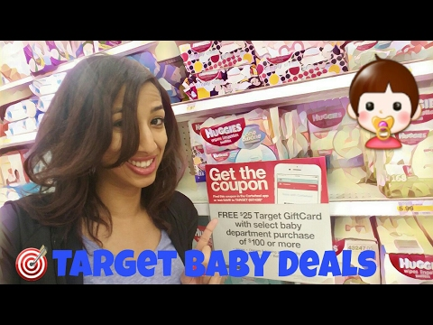 🎯 Target Baby Couponing Deals: FREE $25 Giftcard on Diapers & Formulas (1/29-2/4/17)