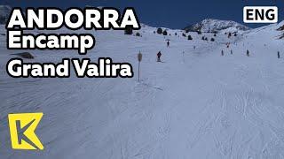 【K】Andorra Travel-Encamp[안도라 여행-엔캄]피레네 산맥, 발리라 스키장/Grand Valira/Ski resort/Pyrenees mountains