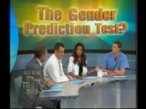 Intelligender On The Doctors Tv Show Early Gender Prediction Test