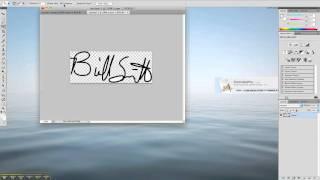 Het maken van een handtekening bestand in Photoshop te gebruiken in het Formuleren van Pro