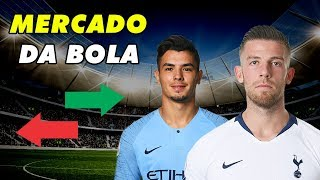 REAL MADRID CONTRATOU JOGADOR DO MANCHESTER CITY! - MERCADO DA BOLA 04/01
