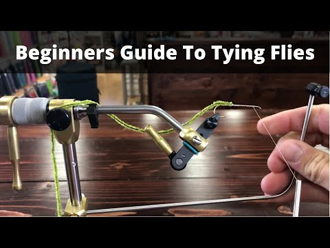 A Beginners Guide To Getting Started With Fly Tying Flies