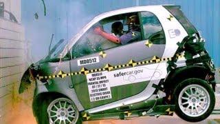 2013 Smart Fortwo Electric Drive   Frontal Crash Test by NHTSA   CrashNet1