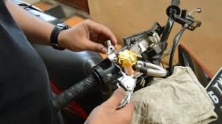 Memasang Master Rem Racing di Honda Vario