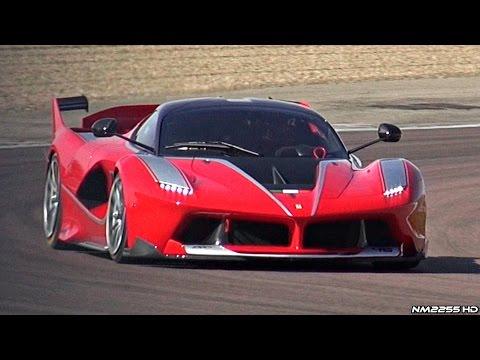 Así de bestia suena el Ferrari FXX K en Fiorano