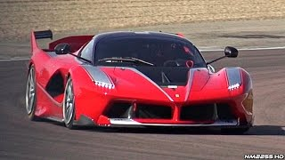 Ferrari FXX K PURE Sound @ Fiorano Circuit! Accelerations, Downshifts & More!