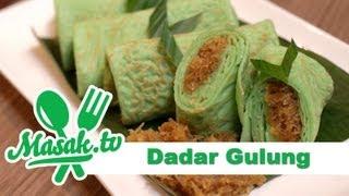 Dadar Gulung - Sweet Egg Roll   Jajanan #026