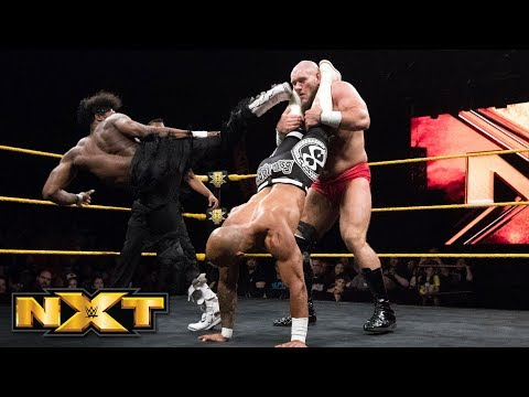 Ricochet & Velveteen Dream vs. Lars Sullivan - Handicap Match: WWE NXT, May 23, 2018