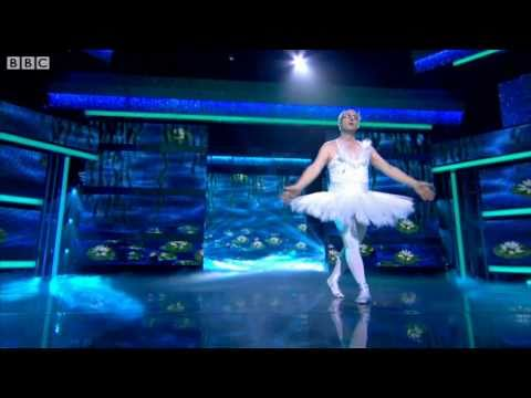 "Ade Edmondson does ""The Dying Swan"" - Let's Dance for Comic Relief 2011 Show 3 - BBC One"