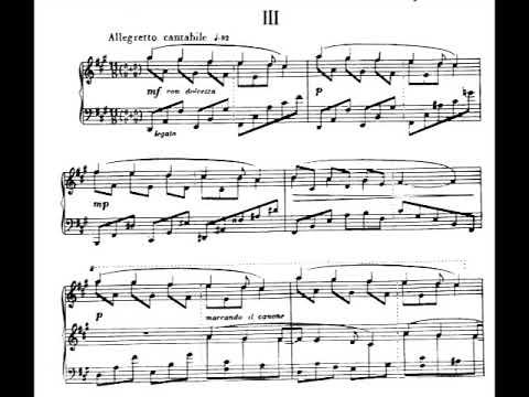 Alberto Ginastera - Suite de Danzas Criollas for Piano, Op.15 (1946) [Score-Video]