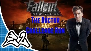 Fallout: New Vegas (PC) The Doctor Challenge Run PT.1 - EXTERMINATE!!