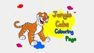 Раскраска Дикие животные | Animals Colouring - GF4Y.COM
