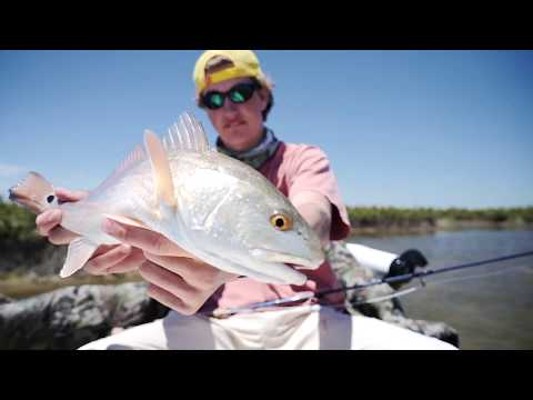 Fly Fishing For Redfish In Port O Conner Texas