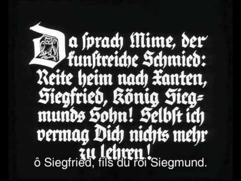 Fritz Lang : Les Nibelungen - Siegfried - Part 1/15
