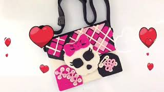 PlayDoh Monster High School Purse Video for Kids #DollsToys PlayDoh