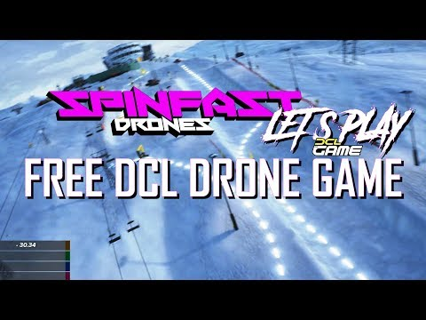 DCL Game Overview // Best Free Drone Racing Sim?