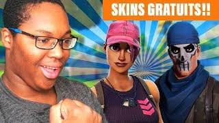 TWO NEW FREE SKINS on FORTNITE BATTLE ROYALE!!