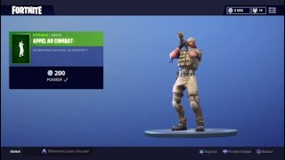 Fortnite calls to fight buy (200 v-buck)