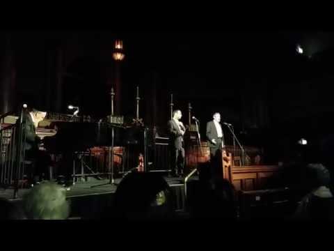 Rabbi Dovid Rubinfeld and Ronny Kowadlo preform at MHC's ORA Concert 2015