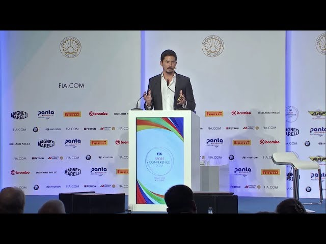 AXLE MOTORSPORT AT FIA SPORT CONFERENCE 2018