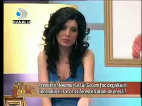 Andreea Tonciu a fost concediata in direct la Canal D