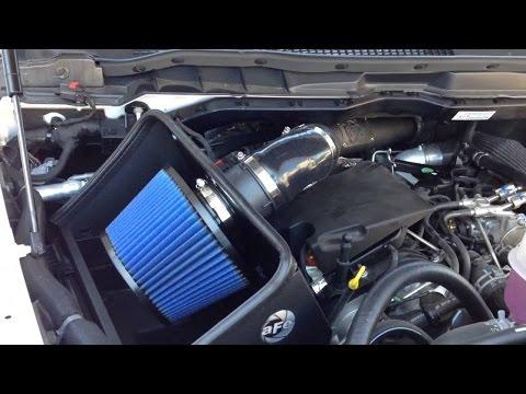 2015 Ram Ecodiesel Air Intake AFE & MBRP Dual Intercooler Pipe Kit Install