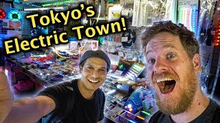 Exploring Akihabara, Tokyo's Electronics Markets - w/Only in Japan!