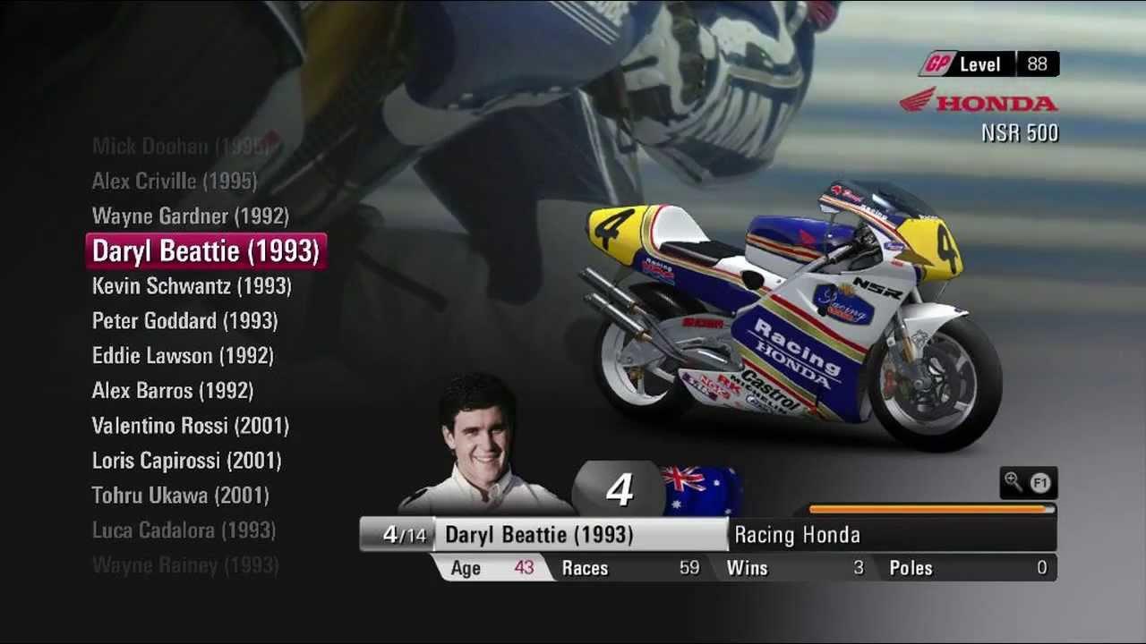 Game MotoGP13 - VR46 Nastro Azzuro Honda NSR 500cc 2-Stroke [Rifal] - YouTube