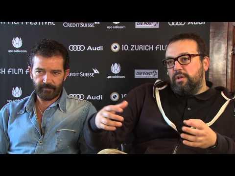 Automata: Antonio Banderas & Gabe Ibanez Exclusive  at Zurich Film Festival Part 1 of 1