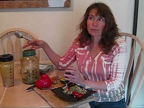 Raw Food Story #3 - Susan Schenck - author of **THE LIVE FOOD FACTOR**!!